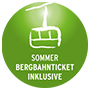 Bergbahn-Ticket inklusive